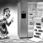 Có thể bói quẻ qua tủ lạnh