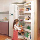 Mách nhỏ :khử mùi hôi trong tủ lạnh