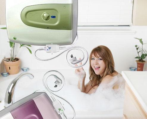 Tiết kiệm điện với máy nước nóng