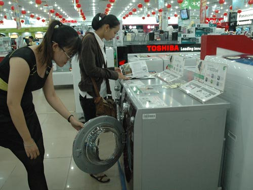 Sốt với thị trường điện máy tiết kiệm điện