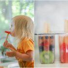 Dùng tủ lạnh làm món kem ngon cho bé