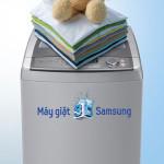 Tiết kiệm nước, áo quần không xoắn rối với máy giặt Samsung 3D