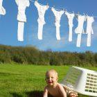 Mẹo giặt quần áo cho bé bằng máy giặt, sua may giat, sửa máy giặt