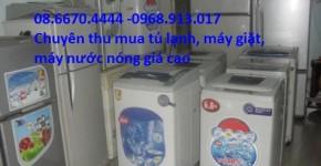 Chuyên trao đổi thu mua tủ lạnh, máy giặt, máy nước nóng giá cao