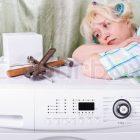 Nguyên nhân máy giặt không sạch?