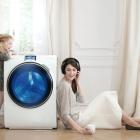 Máy giặt cửa trước giặt áo quần như thế nào?