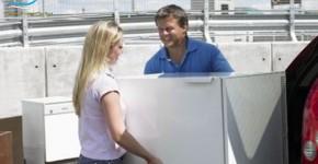 7 bước di chuyển tủ lạnh đơn giản